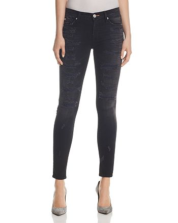 Hudson - Nico Destructed Skinny Jeans in Hijacked