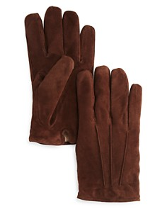 The Men's Store at Bloomingdale's Three-Cord Suede Gloves_0