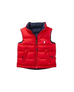 Ralph Lauren Childrenswear Boys Down Vest  Baby