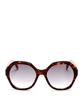 Fendi - Women's Oversized Round Sunglasses, 56mm