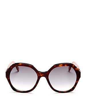 Fendi Oversized Round Sunglasses, 56mm