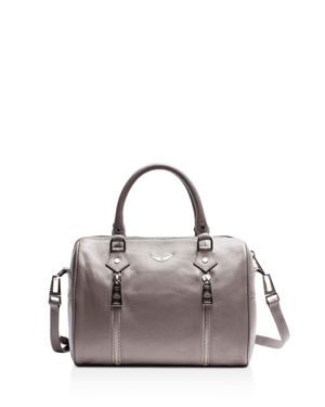 SUNNY SMALL LEATHER SATCHEL