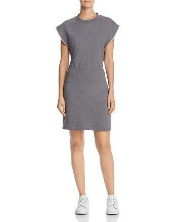 alexanderwang.t - Cutout-Back French Terry Dress