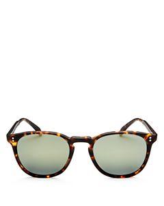 21798054f2b1 Oliver Peoples Women s Roella Mirrored Cat Eye Sunglasses