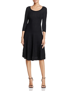 Nic+Zoe Twirl Ribbed Sweater Dress - 100% Exclusive