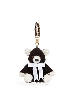 Maximilian Furs Lamb Shearling Teddy Bear Key Chain - Bloomingdale's_0