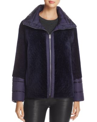 REVERSIBLE LAMB SHEARLING JACKET - 100% EXCLUSIVE