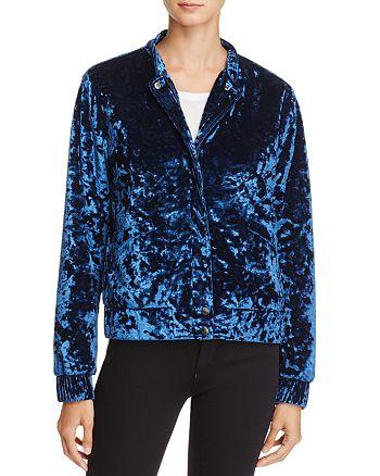 Joe's Jeans - Lexi Crushed-Velvet Jacket - 100% Exclusive
