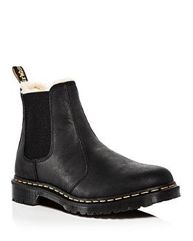 Dr. Martens - Women's Leonore Faux Fur Lined Chelsea Boots
