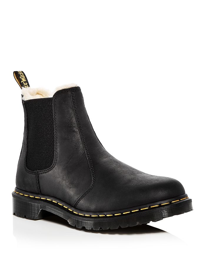 Dr. Martens - Women's Leonore Leather Chelsea Booties