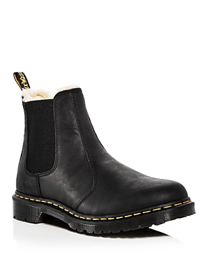 Dr. Martens Women\\\'s Leonore Leather Chelsea Booties