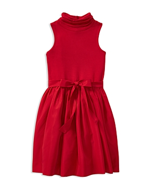 Ralph Lauren Childrenswear Girls' Fit-and-Flare Sheath Dress - Big Kid