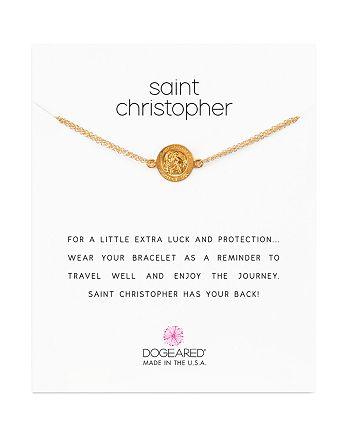 Dogeared - Saint Christopher Chain Bracelet