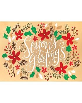 Design Design - Season's Greetings Cards, Box of 8