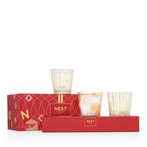Nest Fragrances Holiday, Birchwood Pine, Sugar Cookie Holiday Candle Set