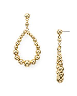 Aqua Ball Teardrop Earrings - 100% Exclusive