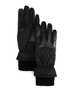 Echo Warmest Sheepskin Superfit Tech Gloves - Bloomingdale's_0