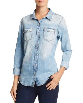 MAVI Isabel Shaded Denim Shirt