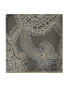 Turnbull & Asser Exploded Paisley Pocket Square - Bloomingdale's_0
