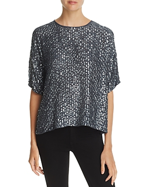 Velvet by Graham & Spencer Sequined Top - 100% Exclusive