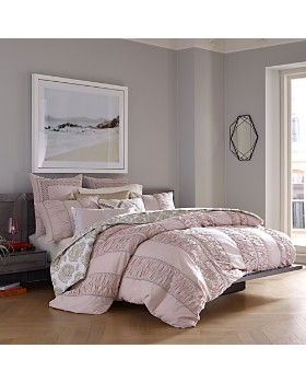 Sky - Chambray Stripe Bedding Collection - 100% Exclusive