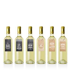 Inklings Paperie Rustic Vintags Wine Bottle Gift Tags