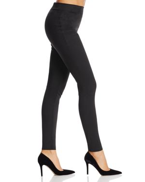 Wolford Velour Faux Suede Leggings