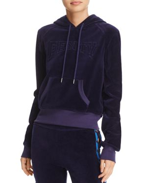 Fenty Puma x Rihanna Velour Hooded Sweatshirt