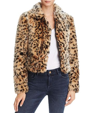 Joe's Jeans - Kate Faux Fur Bomber Jacket
