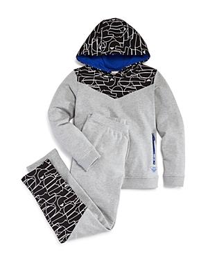 Armani Junior Boys Hoodie  Sweatpants Set  Little Kid Big Kid