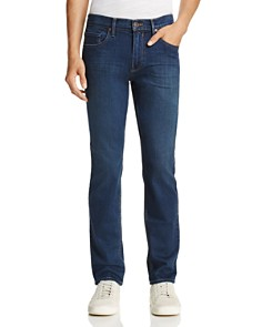 PAIGE - Federal Slim Fit Jeans in Fenner