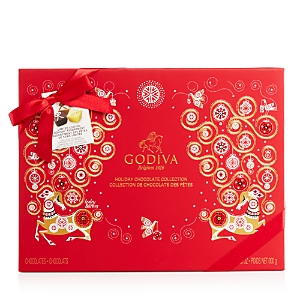 Godiva Limited Edition Holiday Assortment 32 Piece Gift Box