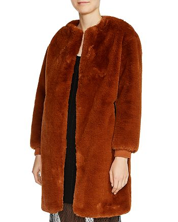 Maje - Gemila Faux-Fur Coat