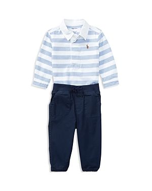 Ralph Lauren Childrenswear Boys LongSleeve Oxford Shirt  Joggers Set  Baby
