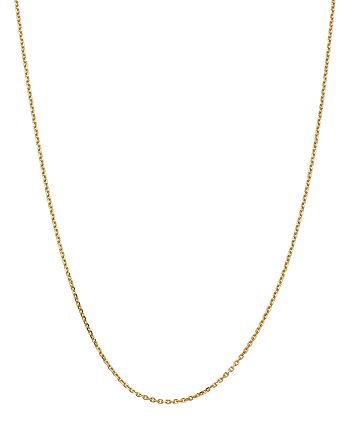 """Bloomingdale's - 14K Yellow Gold 1.65mm Solid Diamond-Cut Cable Chain, 24"""" - 100% Exclusive"""