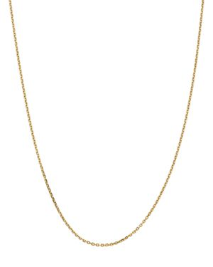 Bloomingdale's 14K Yellow Gold 1.65mm Solid Diamond Cut Cable Chain Necklace, 18 - 100% Exclusive