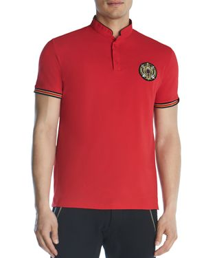 The Kooples Tri-Color Slim Fit Polo