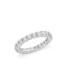 Bloomingdale's - Diamond Eternity Band in 14K White Gold, 1.5 ct. t.w. - 100% Exclusive