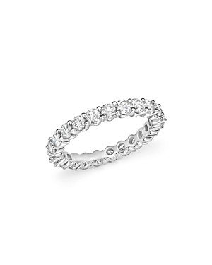 Bloomingdale's Diamond Eternity Band in 14K White Gold, 1.5 ct. t.w. - 100% Exclusive