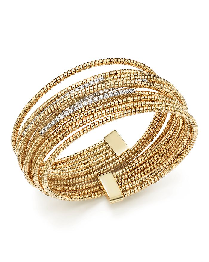 Bloomingdale's - Diamond Multi Coil Bracelet, 1.05 ct. t.w. - 100% Exclusive