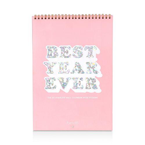 ban.do - Best Year Ever Wall Calendar