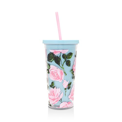 ban.do - Rose Parade Sip Tip Tumbler with Straw