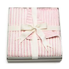 Elegant Baby - Girls' Twisted-Yarn Blanket