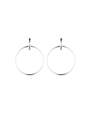 Lauren Ralph Lauren Door Knocker Hoop Earrings