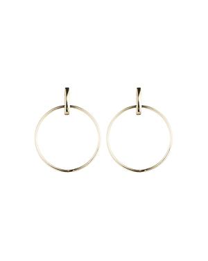 Lauren Ralph Lauren Door Knocker Hoop Earrings