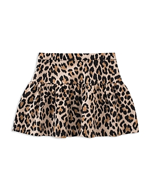 kate spade new york Girls' Leopard-Print Skirt - Big Kid