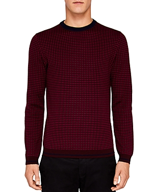 Ted Baker Parvine Square Jacquard Sweater