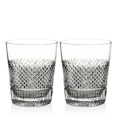 Waterford Diamond Line Double Old-Fashioned Glass, Set of 2 - Bloomingdale's_0