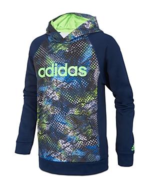 Adidas Boys' Printed Logo Hoodie - Big Kid