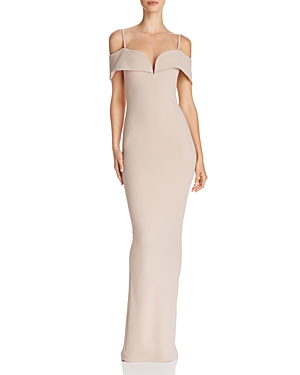 Nookie PRETTY BELLE COLD-SHOULDER GOWN